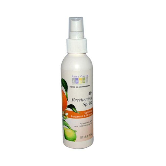 Aura Cacia Air Freshening Spritz - Uplifting Bergamot & Orange