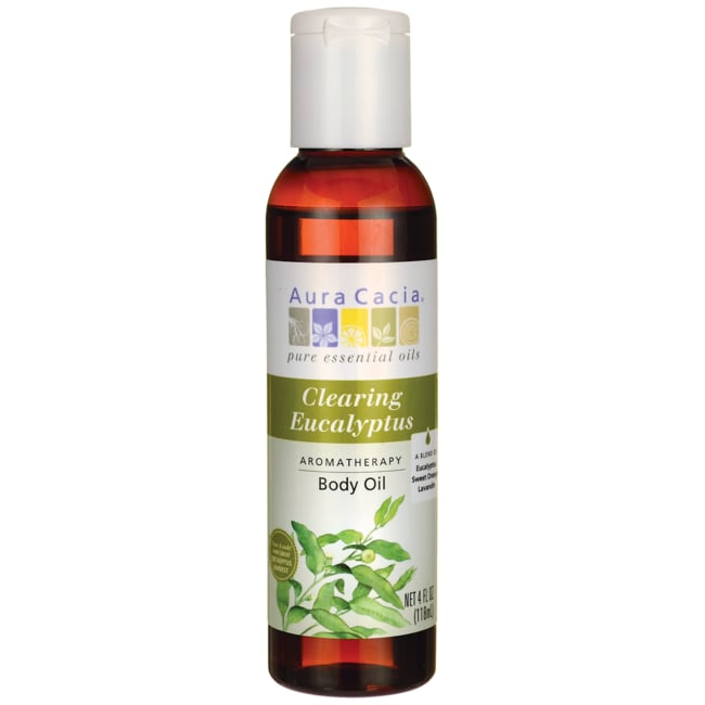 Aura CaciaAromatherapy Bath, Body & Massage Oil - Eucalyptus Harv