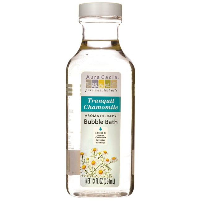 Aromaterapia Y Aceites Esenciales Aura Cacia aromaterapia baño de burbujas - tu Salud en Veo y Compro de tranquilo manzanilla 13 onzas Productos líquidos para  + Baño en Veo y Compro