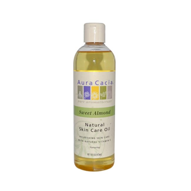 Aura CaciaNatural Skin Care Oil - Sweet Almond