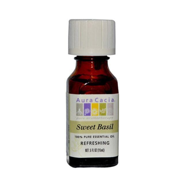 Aura Cacia Essential Oil Sweet Basil