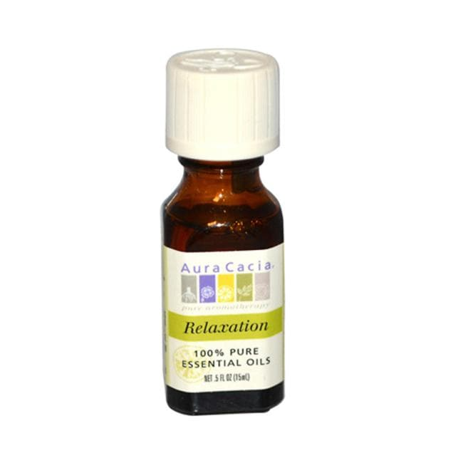 Aura Cacia 100% Pure Essential Oils - Relaxation