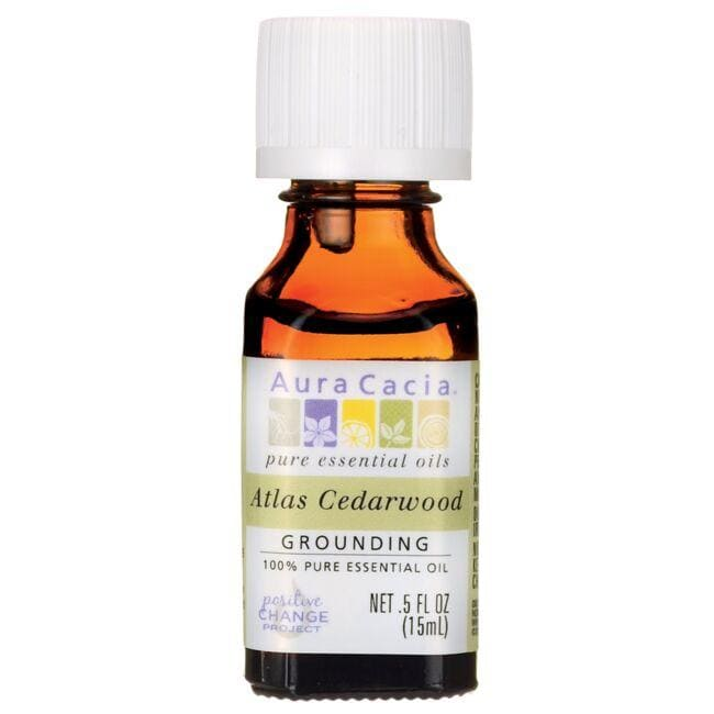Aura Cacia Atlas Cedarwood 100% Pure Essential Oil