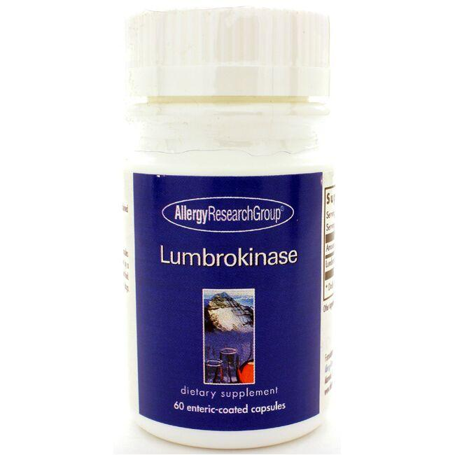 Allergy Research Group Lumbrokinase