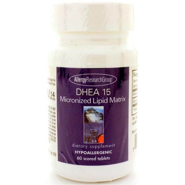 Allergy Research Group DHEA 15 Micronized Lipid Matrix