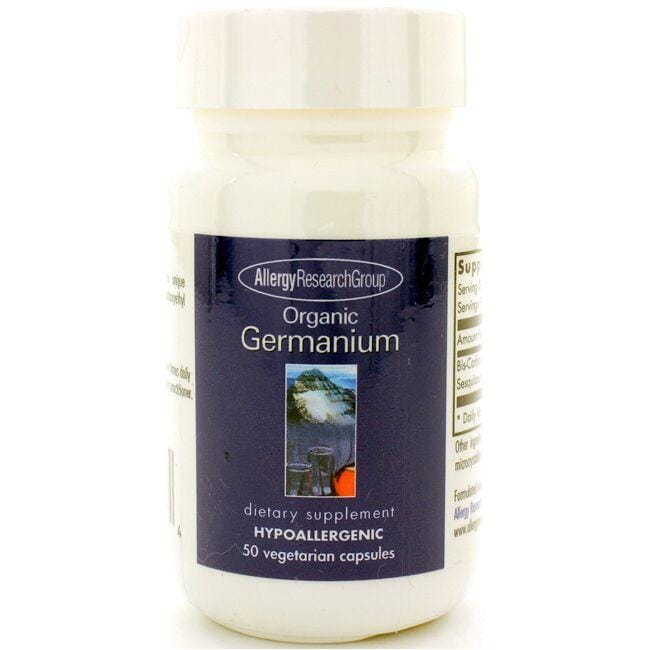 Allergy Research Group Organic Germanium
