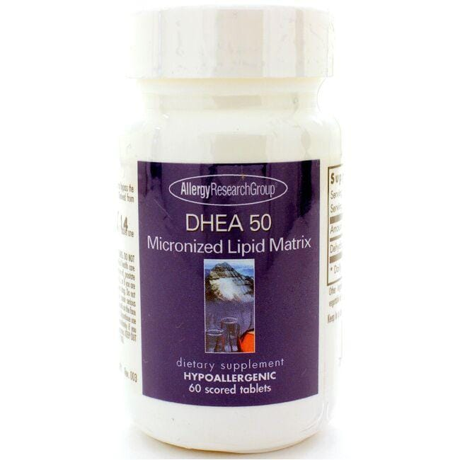 Allergy Research Group DHEA 50 Micronized Lipid Matrix