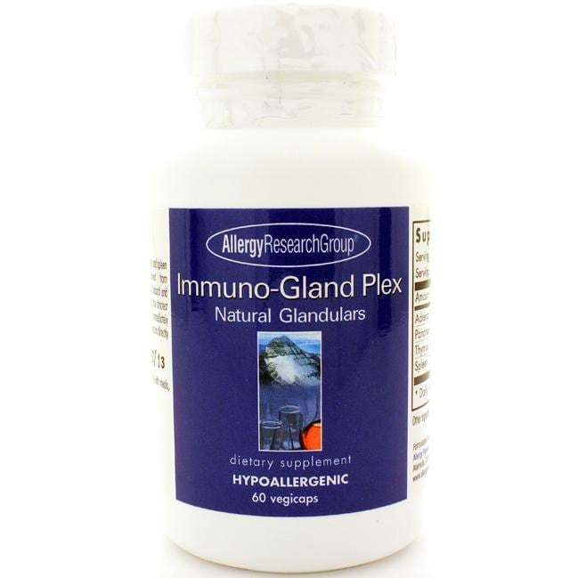 Allergy Research Group Immuno-Gland Plex Natural Glandulars