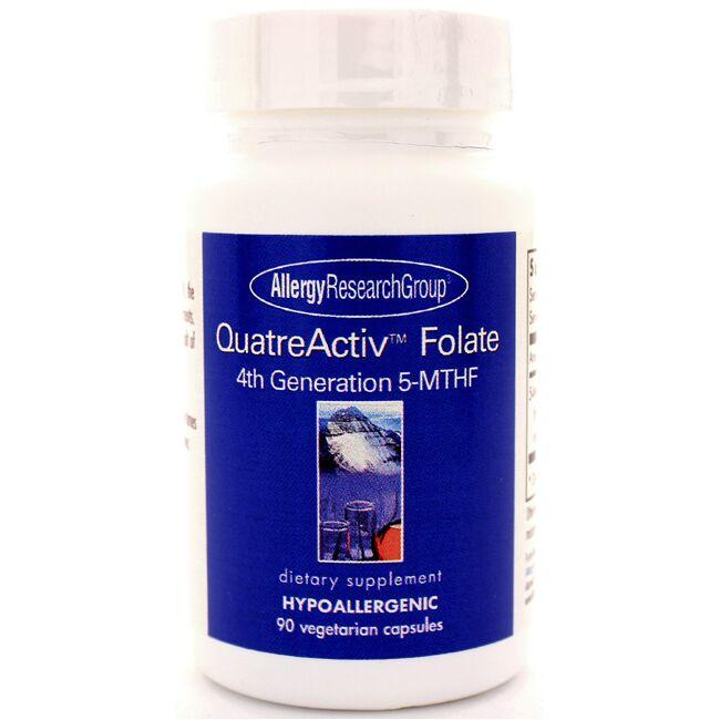 Allergy Research Group QuatreActiv Folate 4th Generation 5-MTHF