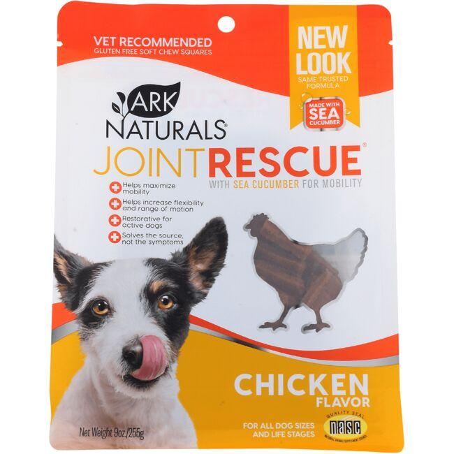 Ark Naturals Sea Mobility Joint Rescue Soft Chew Squares - Chicken