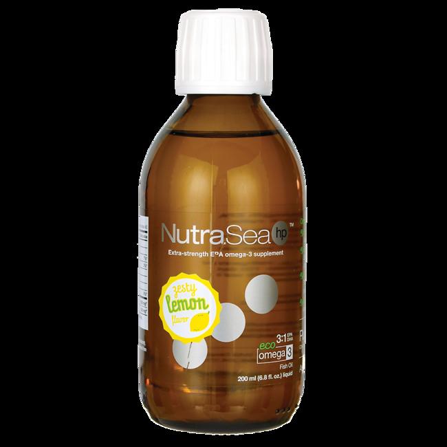 Ascenta Health NutraSea HP Extra-Strength Omega-3 - Zesty Lemon