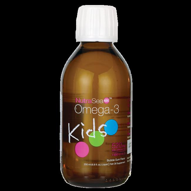 Ascenta HealthNutraSea Kids Omega-3 + Vitamin D - Bubble Gum Flavor