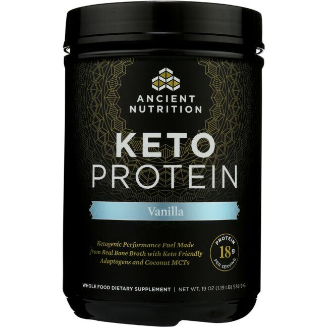 Ancient Nutrition Keto PROTEIN - Vanilla