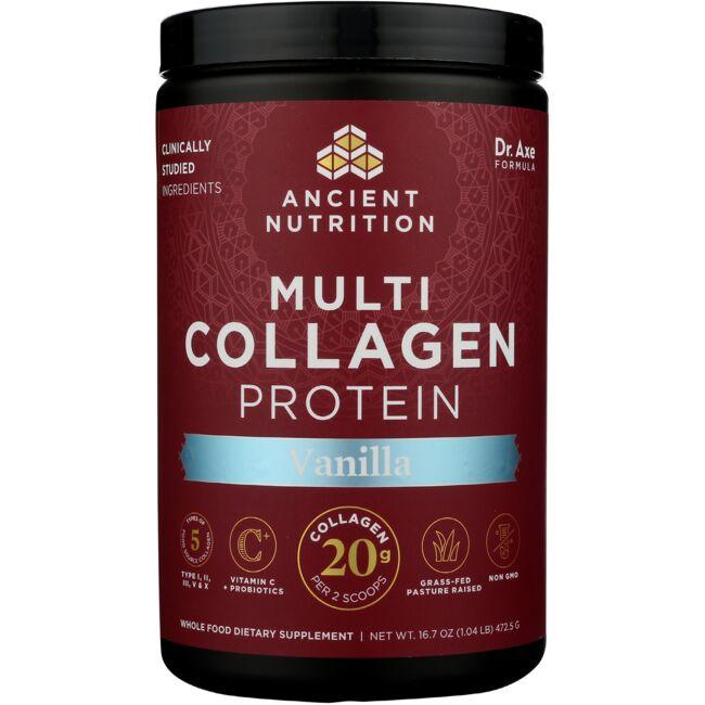 Ancient Nutrition Multi Collagen Protein - Vanilla