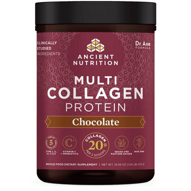 Ancient Nutrition Multi Collagen Protein - Chocolate