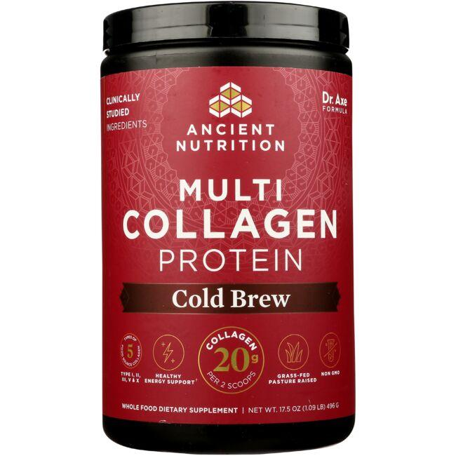 Ancient Nutrition Multi Collagen Protein - Cold Brew Collagen