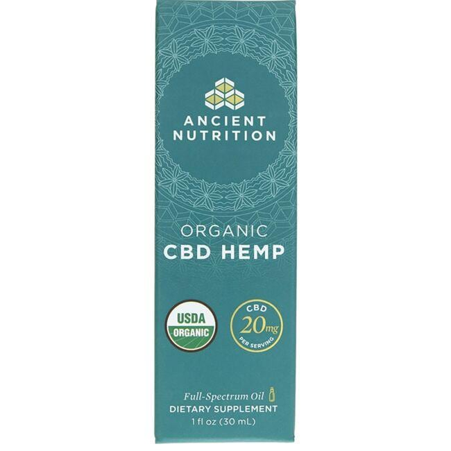 Ancient Nutrition Organic CBD Hemp Oil
