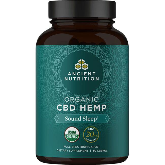 Ancient Nutrition Organic CBD Hemp Sound Sleep