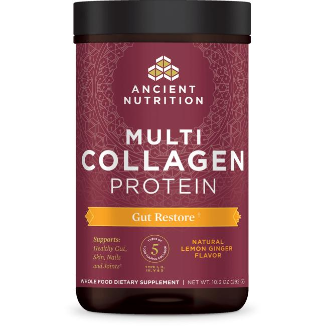 Ancient NutritionMulti Collagen Protein Gut Restore - Lemon Ginger