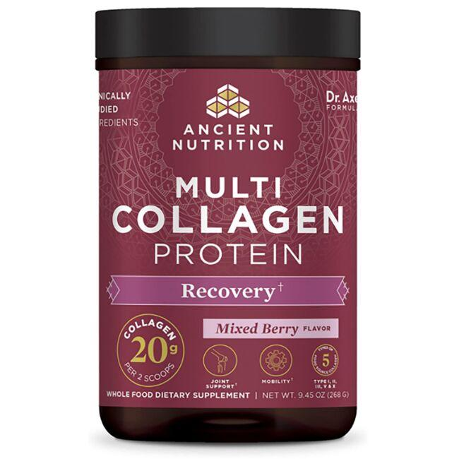 Ancient NutritionMulti Collagen Protein Rest + Recovery - Mixed Berry