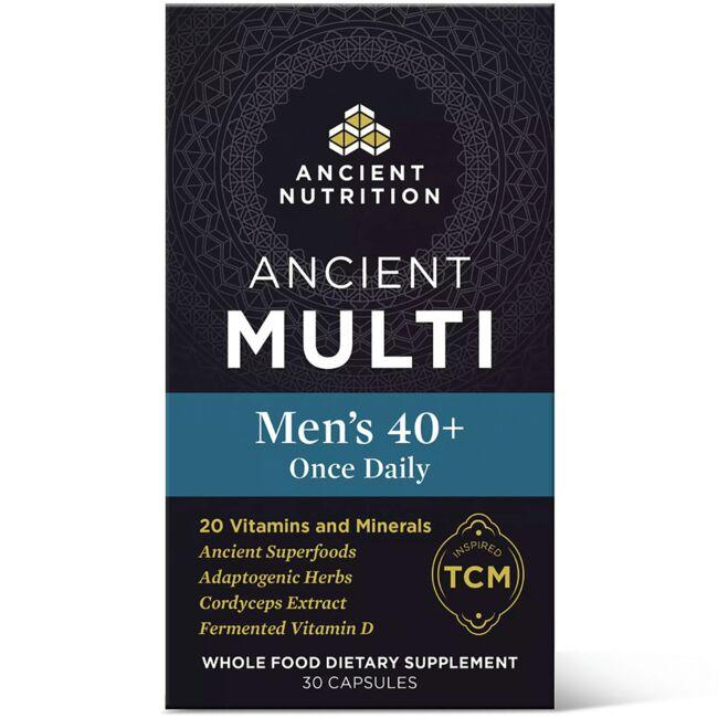 Ancient NutritionAncient Multi Men's 40+ Once Daily