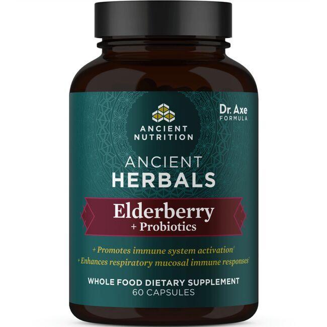 Ancient NutritionAncient Herbals Elderberry + Probiotics