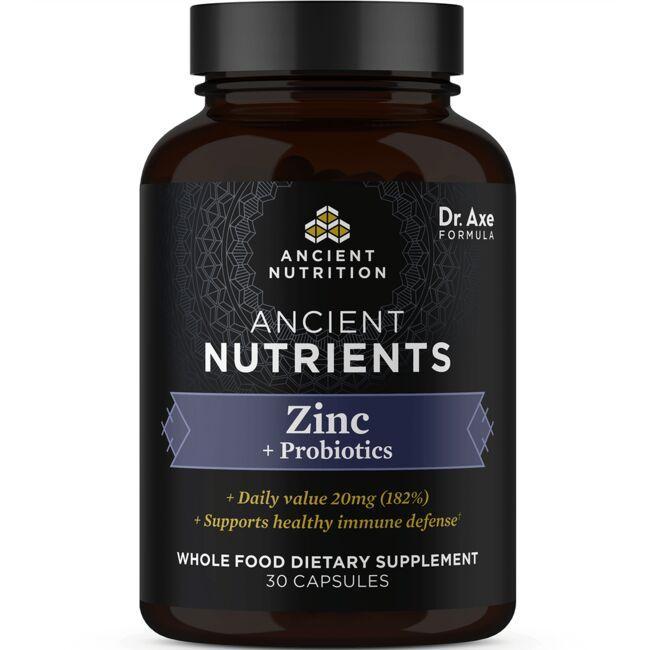 Ancient NutritionAncient Nutritent Zinc + Probiotics