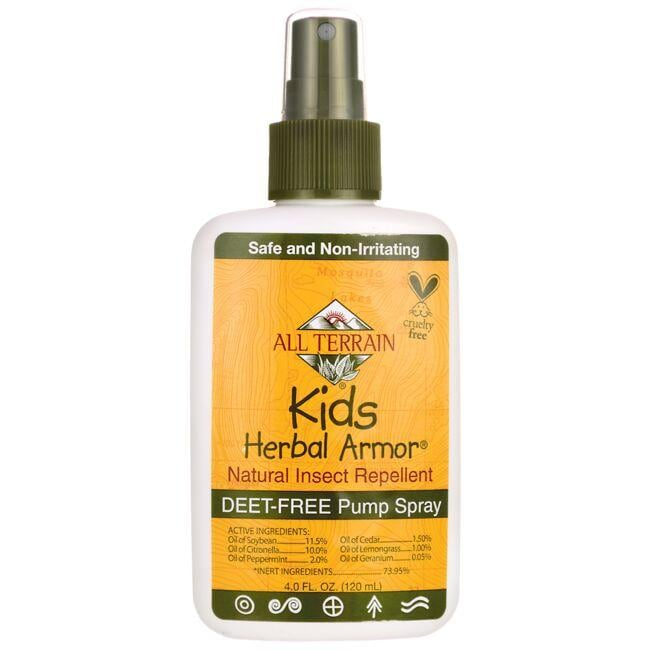 All Terrain Kids Herbal Armor Natural Insect Repellent Pump Spray