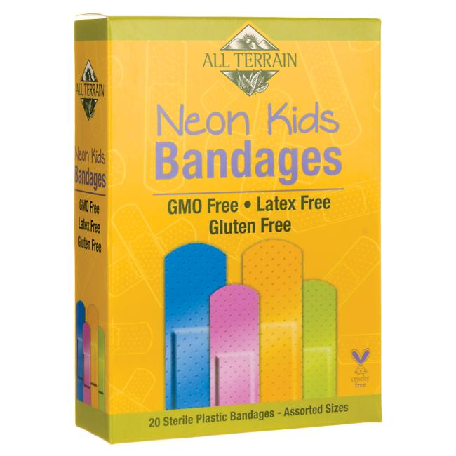 All Terrain Neon Kids Bandages - Assorted Sizes