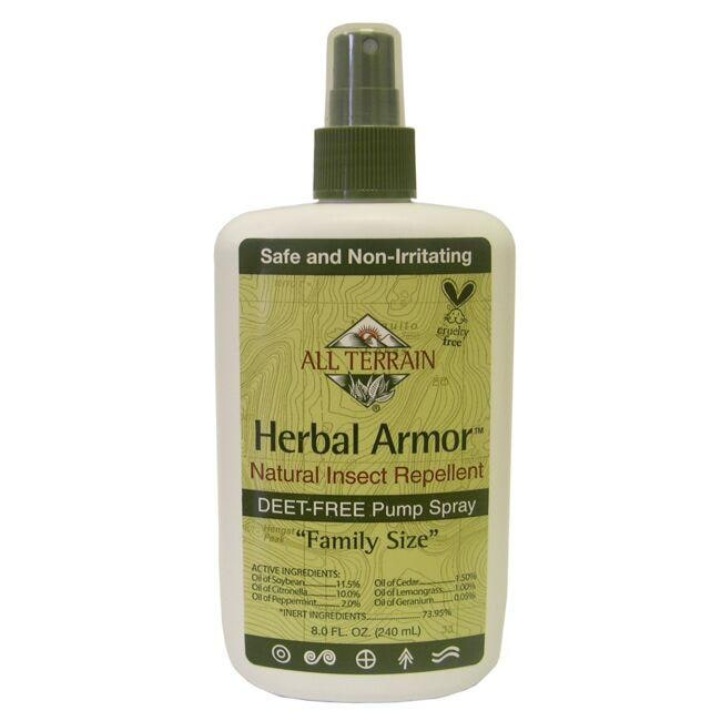 All Terrain Herbal Armor Natural Insect Repellent Pump Spray - Family