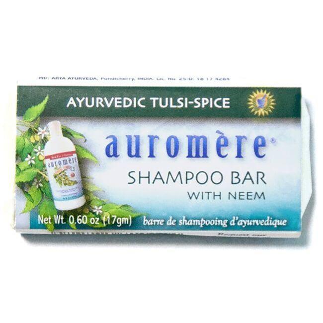 AuromereShampoo Bar - Ayurvedic Tulsi-Spice