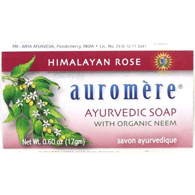 AuromereAyurvedic Soap - Himalayan Rose
