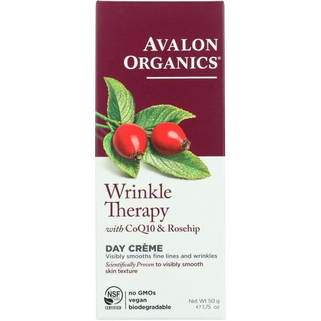 Avalon Organics Wrinkle Therapy with CoQ10 & Rosehip - Day Creme