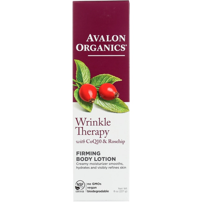 Avalon OrganicsWrinkle Therapy with CoQ10 & Rosehip Firming Body Lotion