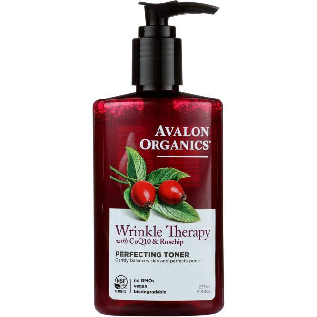 Avalon Organics Wrinkle Therapy with CoQ10 & Rosehip - PerfectingToner
