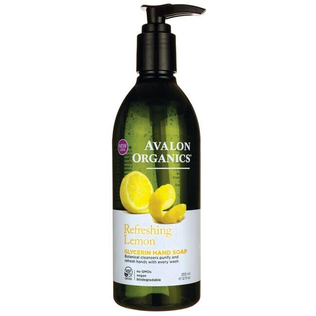 Avalon Organics Glycerin Liquid Hand Soap - Refreshing Lemon