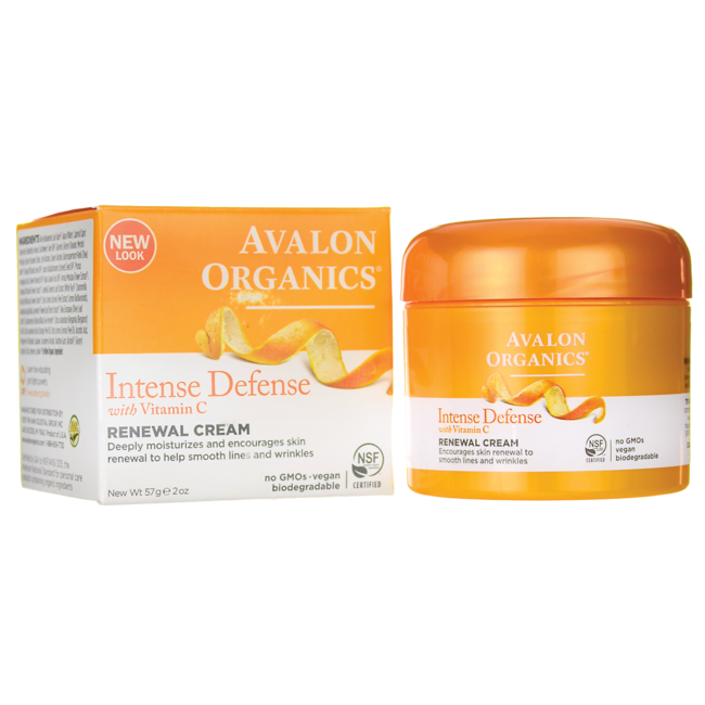 Avalon OrganicsIntense Defense with Vitamin C Renewal Cream