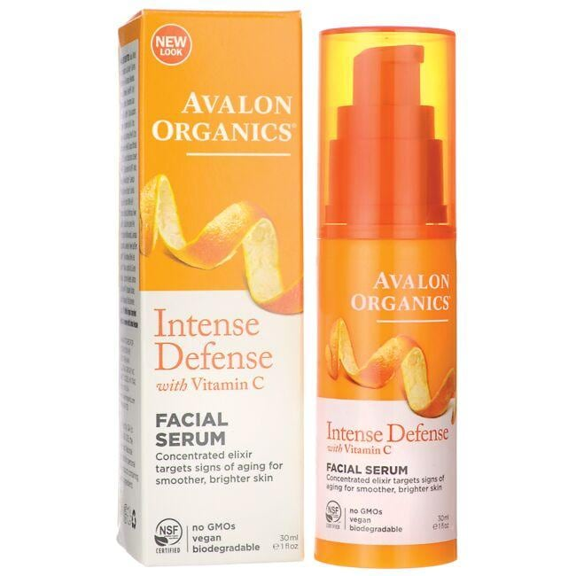 Avalon Organics Intense Defense with Vitamin C Facial Serum