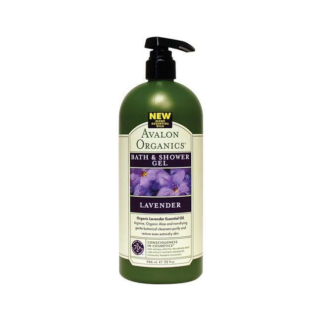 Avalon Organics Bath and Shower Gel Lavender
