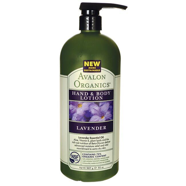 Avalon Organics Hand and Body Lotion Lavender