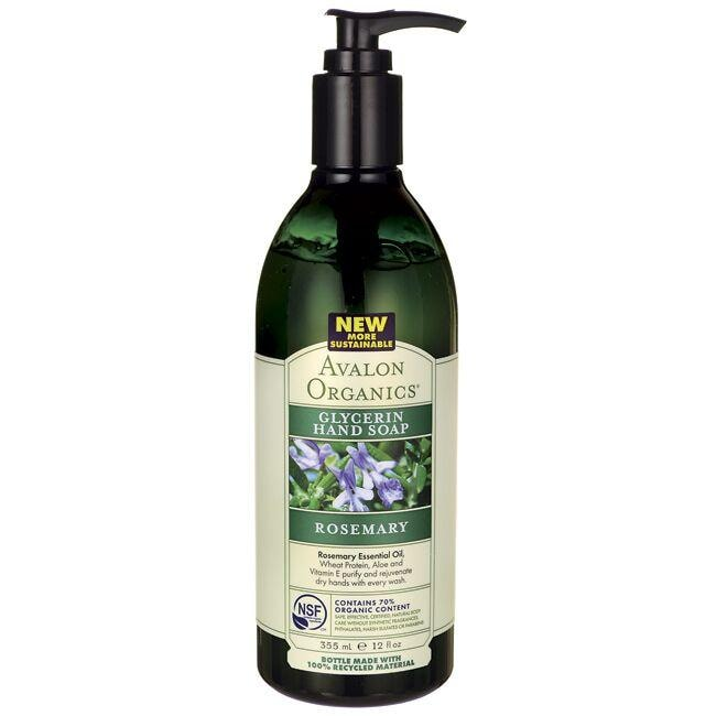 Avalon OrganicsGlycerin Hand Soap - Rosemary