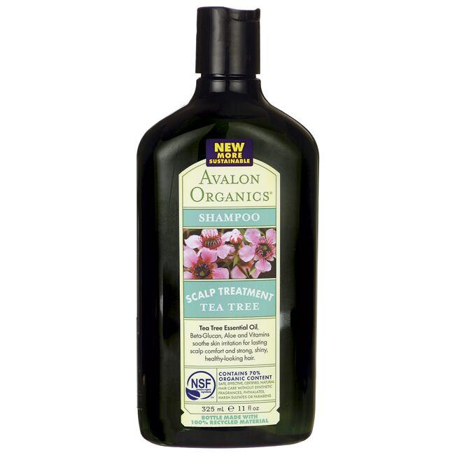 Avalon Organics Shampoo Scalp Treatment - Tea Tree