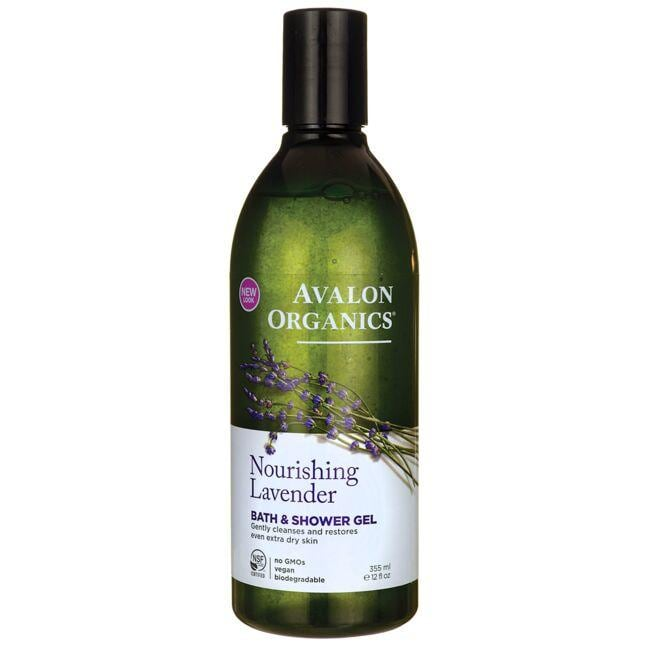 Avalon Organics Bath & Shower Gel - Lavender