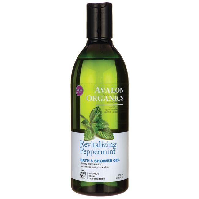 Avalon Organics Bath & Shower Gel - Peppermint