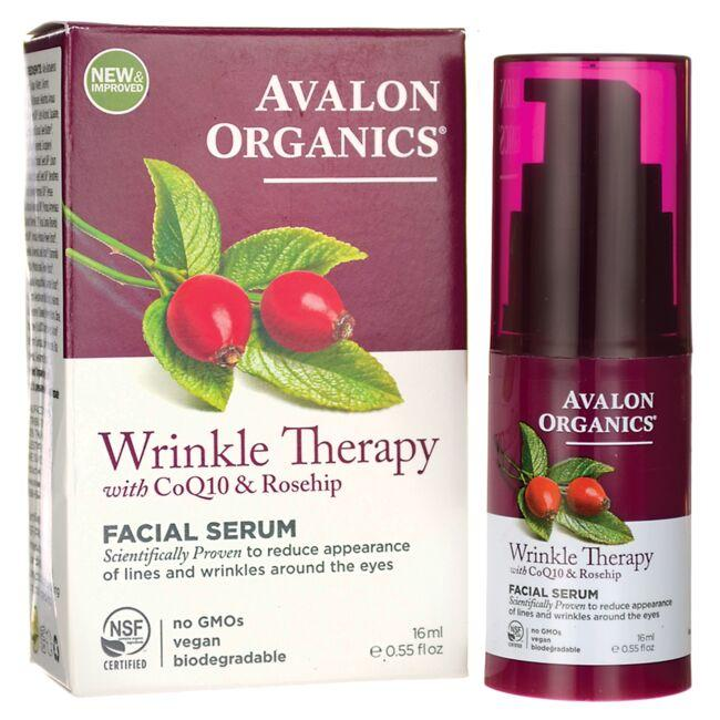 Avalon Organics Wrinkle Therapy Facial Serum