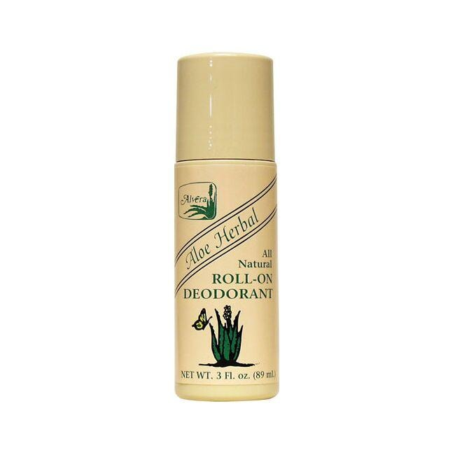 AlveraAll Natural Roll-On Deodorant Aloe Herbal