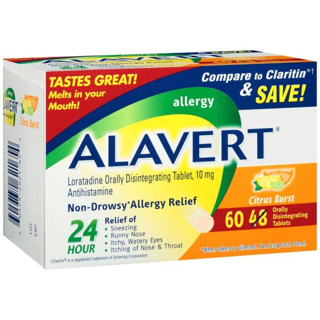 AlavertAlavert Allergy ODT - Citrus Burst