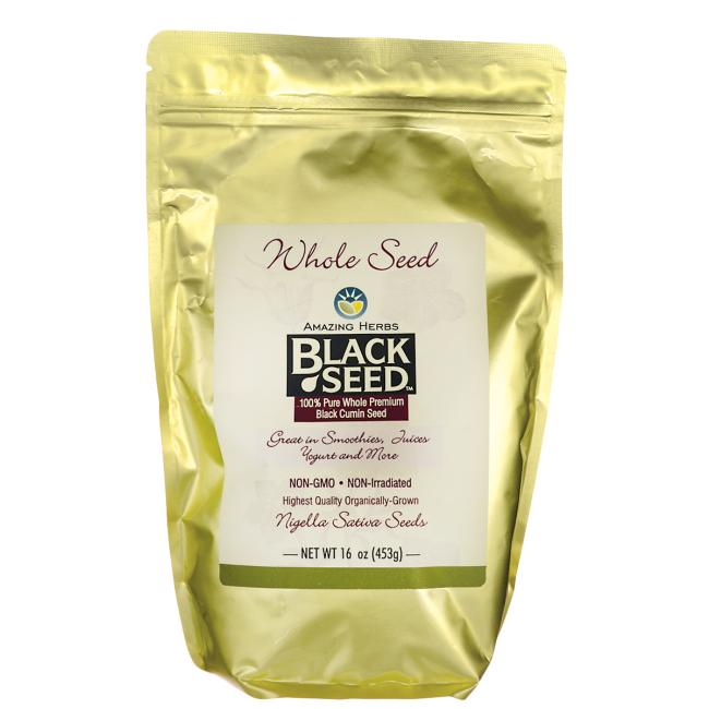 Amazing Herbs Black Seed Gourmet Whole Seed