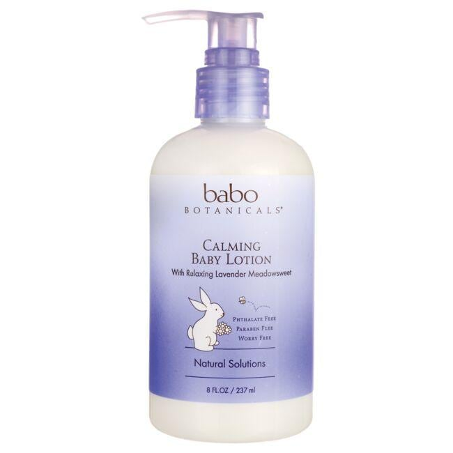 Babo Botanicals Calming Baby Lotion - Lavender Meadowsweet