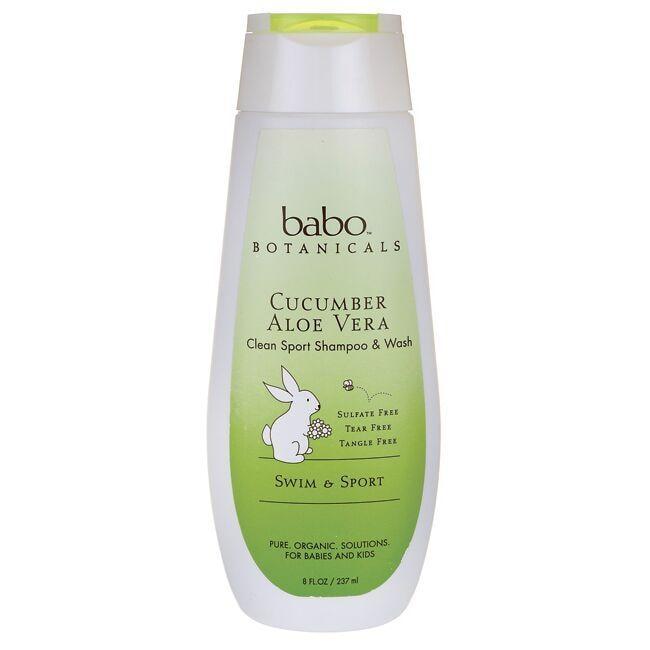 Babo BotanicalsSwim & Sport Shampoo & Wash - Cucumber Aloe Vera